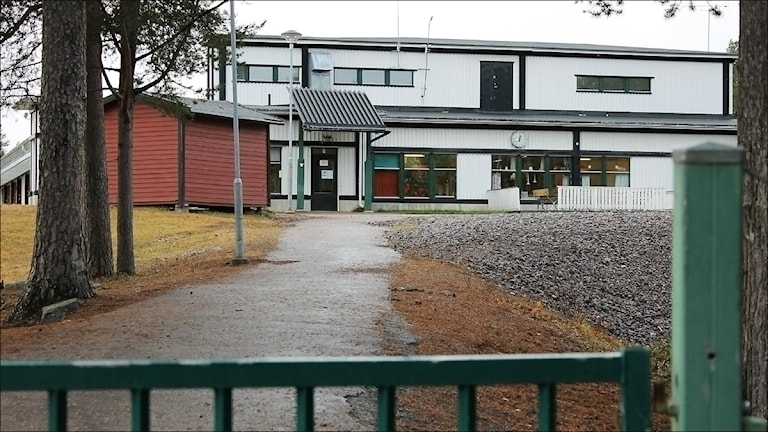 Tallbackaskolan i Gällivare. Foto Alexander Linder/Sveriges Radio.