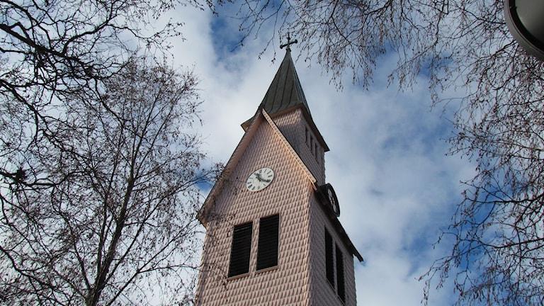 Arjeplogs kyrktorn. Foto: Eva Elke, Sveriges Radio