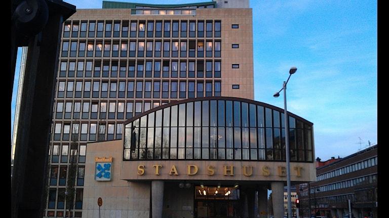 Stadshuset i Luleå. Foto: Roger Kvarnström/Sveriges Radio.