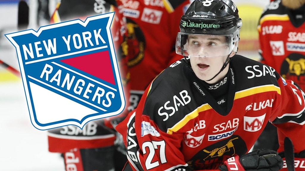 Luleå Hockeys Nils Lundkvist klar för New York Rangers