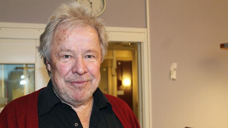 Sven Wollter. Foto: Linnea Luttu/Sveriges Radio