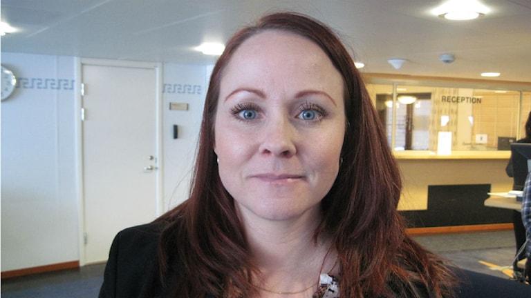 Åklagaren Linda Strömberg vill bevisa att den misstänkte hade ett uppsåt med sina handlingar. Foto: Samed Salman/Sveriges Radio