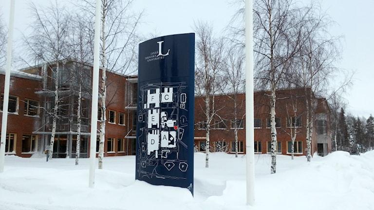 Luleå tekniska universitet. Foto: Carin Sjöblom/ Sveriges Radio.