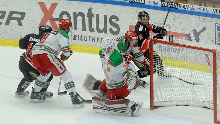 Arkivbild: Asplöven mot Mora i hockeyallsvenskan. Foto: Alf Lindbergh/ Pressbilder.