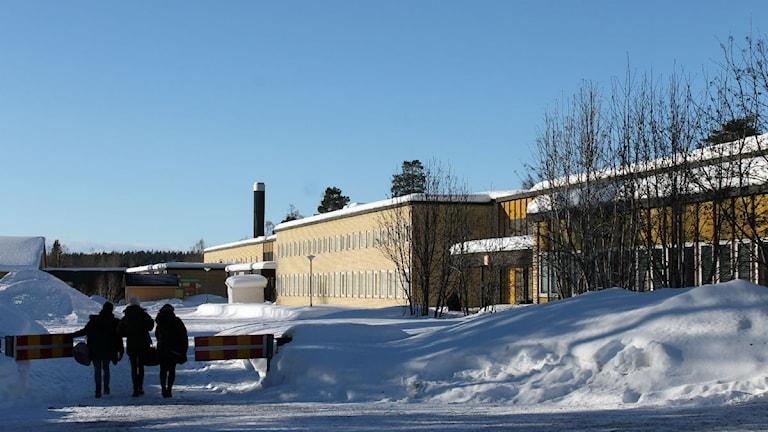 Välkommaskolan i Malmberget. Foto: Alexander Linder/ Sveriges Radio.