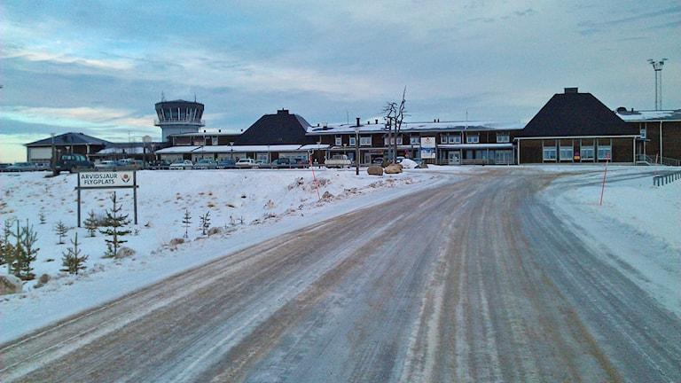 Arvidsjaurs flygplats. Foto: Sveriges Radio