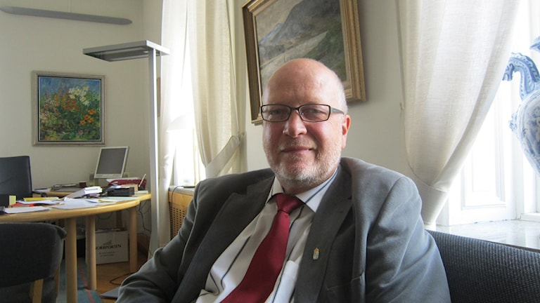 Landshövding Sven-Erik Österberg
