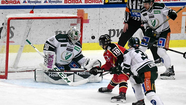 Luleå Hockey mot Färjestad