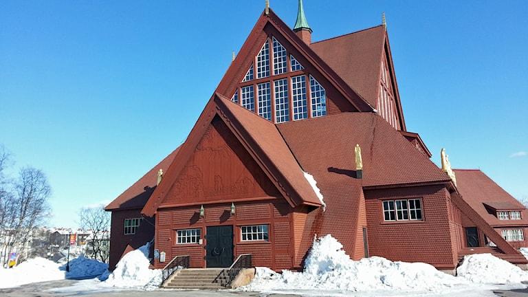 Kiruna kyrka. Foto: Nils Eklund/Sveriges Radio.