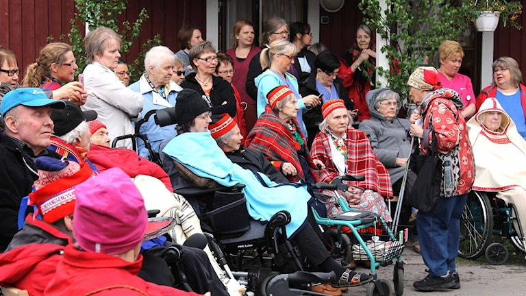 Äldreboendet Gläntan invigdes 2013. Foto: Alexander Linder/ Sveriges Radio.