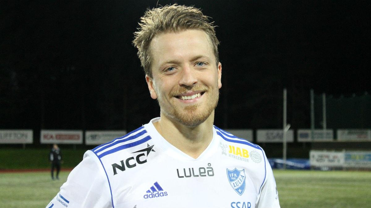 IFK Luleås Kalle Norrbin, 2013-08-22, Foto: Sara Andersson / Sveriges Radio