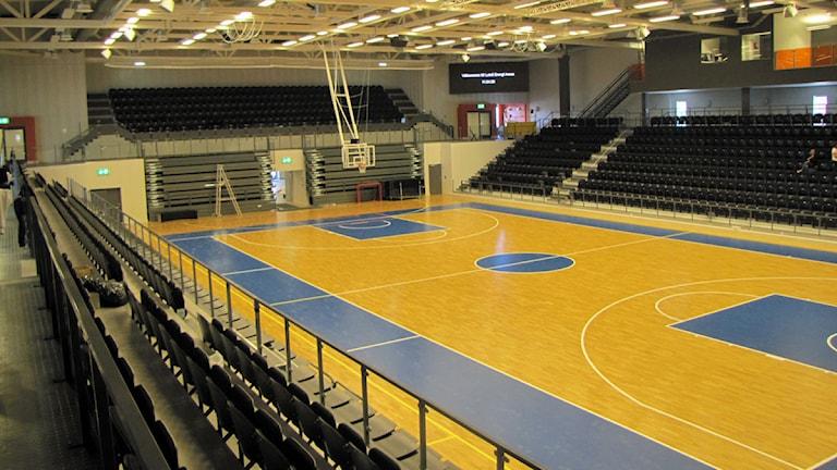 A-hallen i nya Luleå Energi Arena. Foto: Eleonor Norgren/Sveriges Radio.