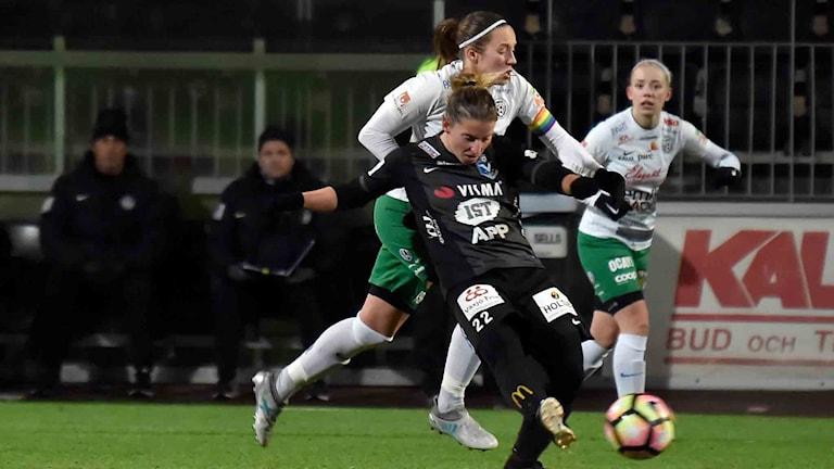 Assi IF-Växjö i elitettan i fotboll.