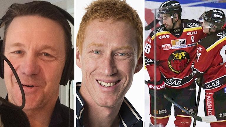 Challe Berglund, Jörgen Jönsson och Niklas Olausson.