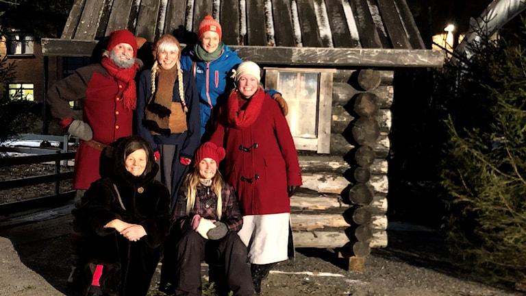 Julkalender i Stadsparken i Luleå