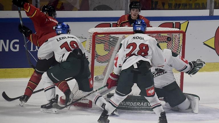 Luleå Hockey mot Augsburger i CHL