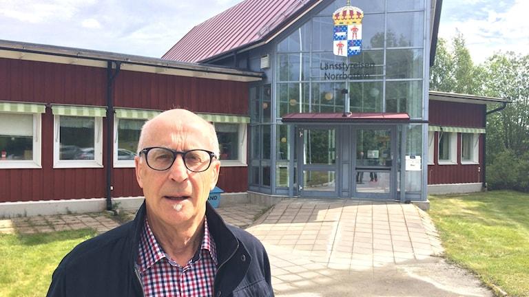 Kenneth Karlsson, projektledare björnspillningsinventeringen.