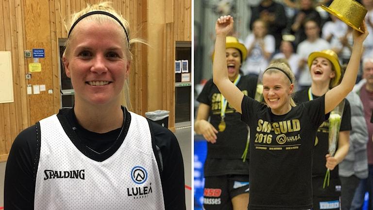 Julie Vanloo är tillbaka i Luleå - 2016 blev det SM-guld med Luleå Basket