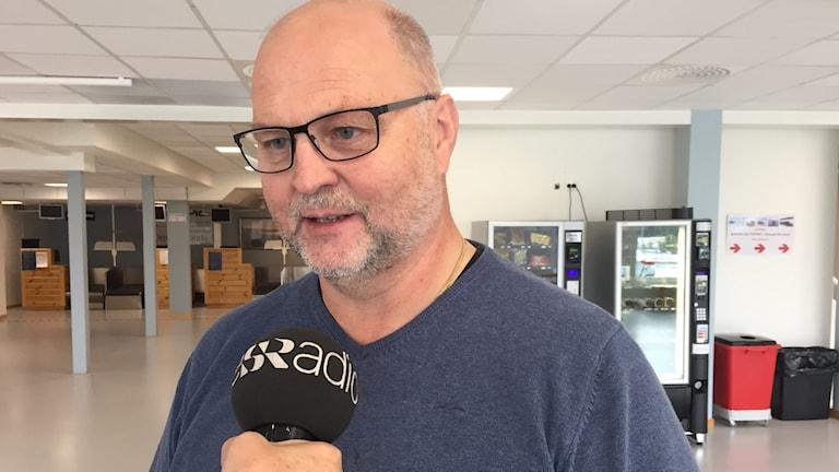 Ralf Lundberg, vd och flygplatschef Arvidsjaurs flygplats.