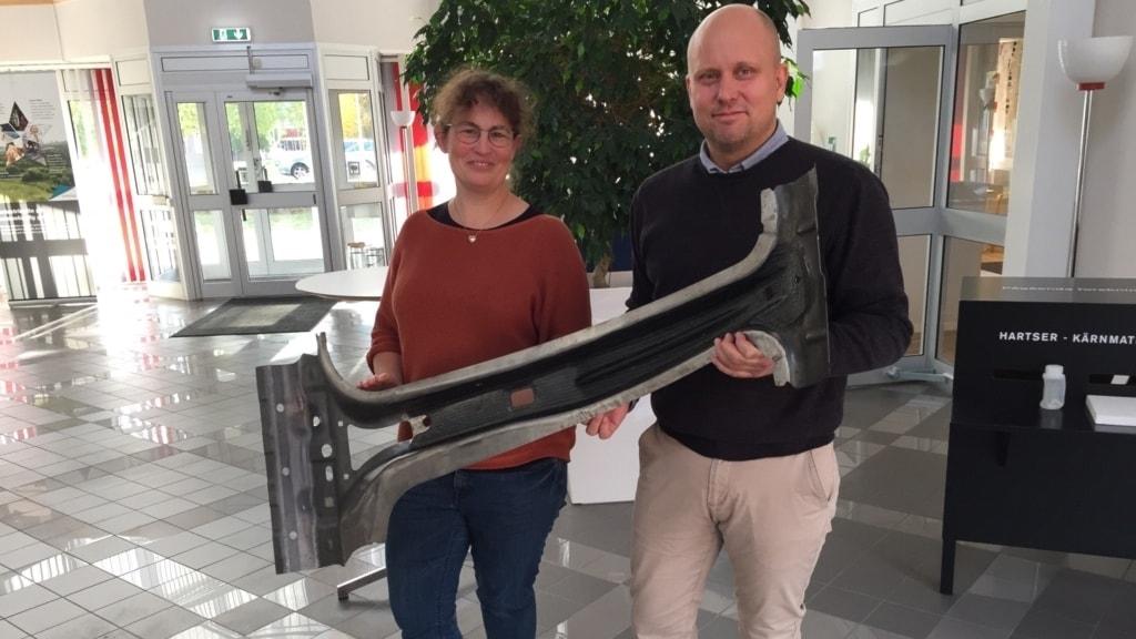 Swerea Sicomp satsar 30 miljoner kronor på en ny anläggning som kan testa kompositdetaljer för fordon i stor skala.