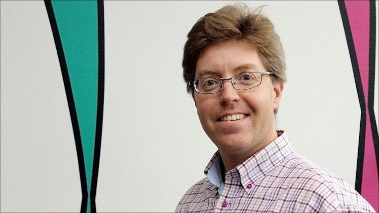 Peter Parnes,  professor LTU. Foto Stig-Arne Nordström/Sveriges Radio.