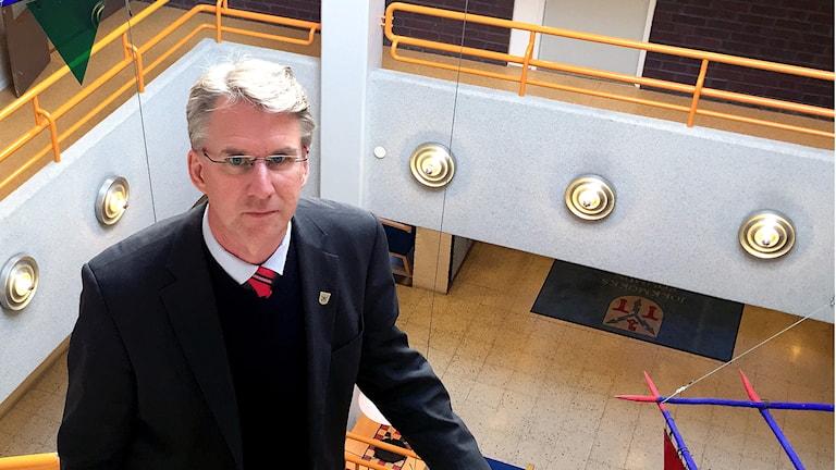 Robert Bernhardsson, kommunalråd i Jokkmokk.