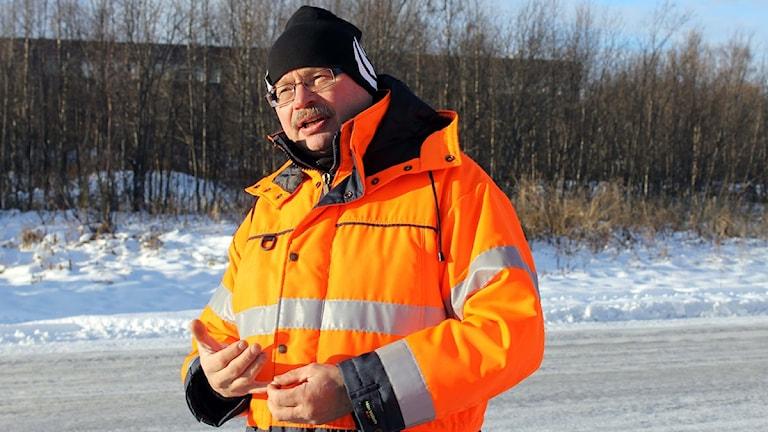 Lars Törnman (S), ordförande i Tekniska verken i Kiruna.