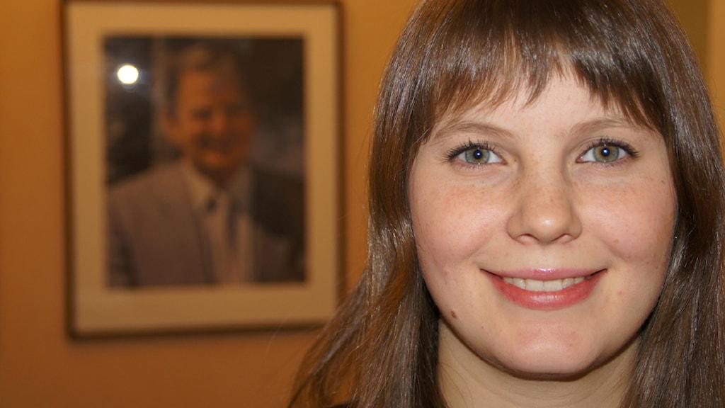 Ida Karkiainen. Foto: Pekka Kenttälä/Sveriges Radio.