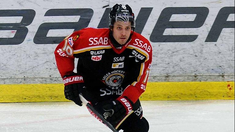 Luleå Hockeys Johan Fransson. Foto: Alf Lindbergh/Pressbilder.
