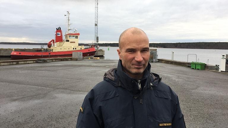 Fredrik Gustafsson, stationchef Kustbevakningen, Bottenviken