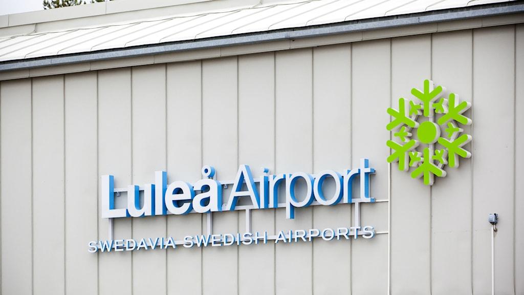 Luleå airport. Foto: Swedavia.