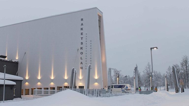 Nya Raketskolan i Kiruna. Foto: Alexander Linder/ Sveriges Radio.