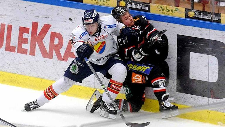 Asplöven-Djurgården i hockeyallsvenskan på Coop Arena i Luleå. Foto: Alf Lindbergh/Pressbilder