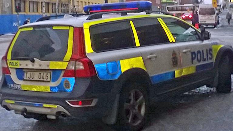 Polisbil i Luleå. Arkivfoto: David Zimmer/Sveriges Radio.