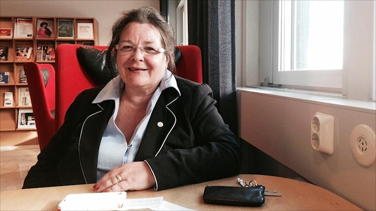 Agneta Granström (MP). Foto Stig-Arne Nordström/Sveriges Radio.