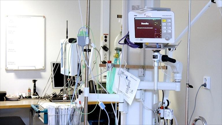 Akuten Piteå Älvdals Sjukhus. Foto Stig-Arne Nordström/Sveriges Radio.