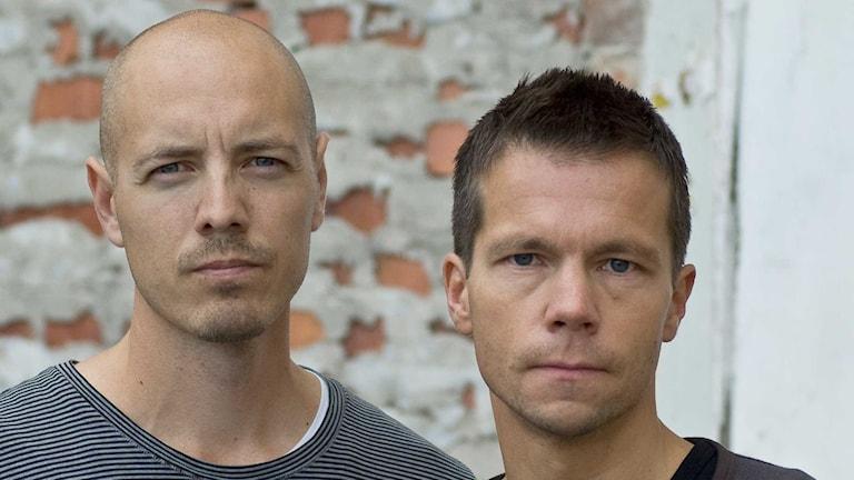 Nicke Nordmark och Hasse Johansson.