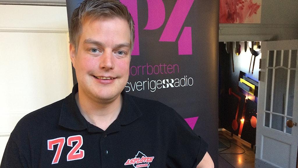 Per Kenttä. Foto: Linnea Luttu/Sveriges Radio.