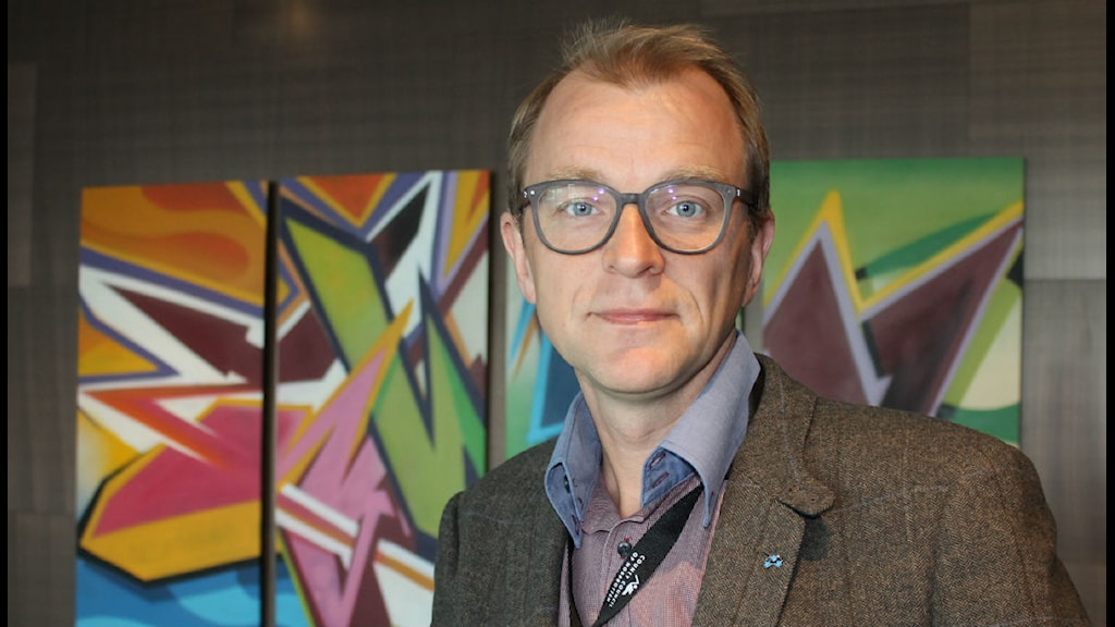 Jens Sundström vice ordförande Baltic sea commission/foto:Anders Prammefors/Sveriges Radio