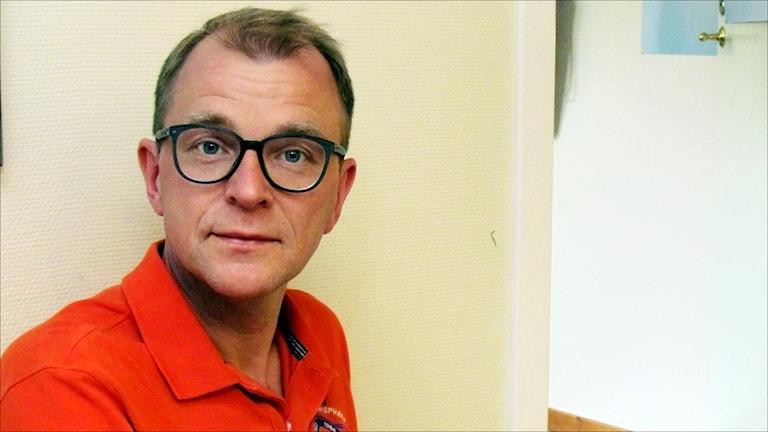 Jens Sundström (FP). Foto Stig-Arne Nordström/Sveriges Radio.
