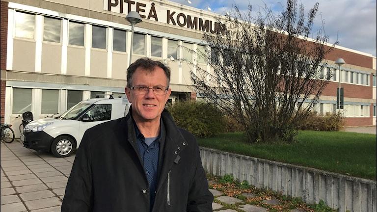 Piteås kommunalråd Anders Lundkvist (S).