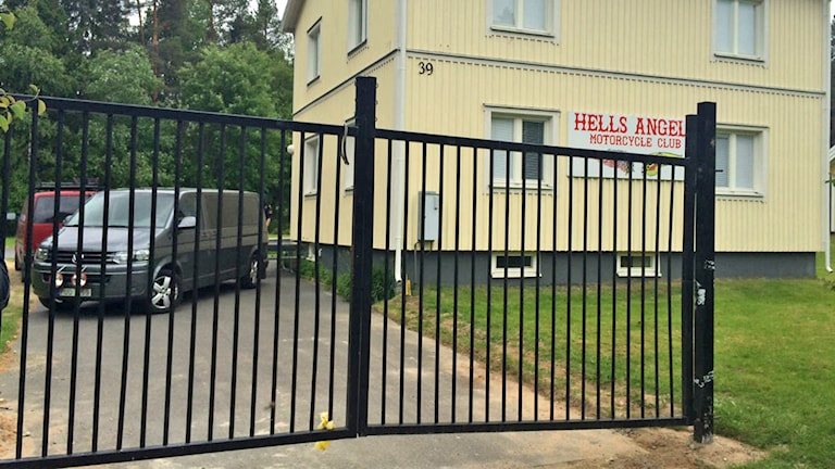 Arkivbild. Hells Angels klubblokal i Gäddvik, strax utanför Luleå.