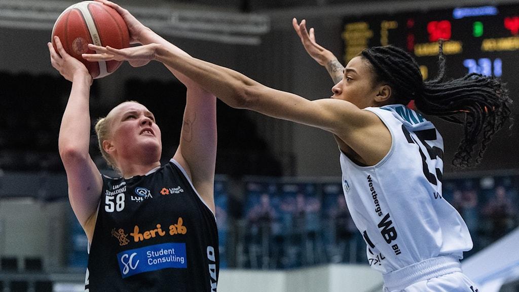 Allis Nyström var en av dom som visade vägen mot Umeå.