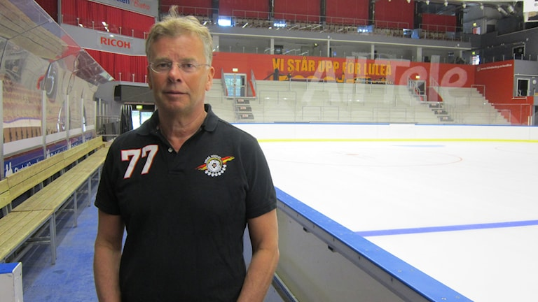 "Sportchef Luleå Hockey Lars ""Osten"" Bergström i Coop Norrbotten arena"