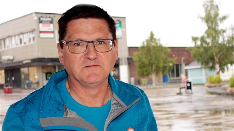 Lars Alriksson Moderaterna Gällivare. Foto Stig-Arne Nordström/Sveriges Radio.