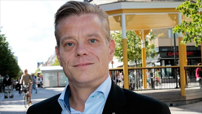 Anders Josefsson (M). Foto: Stig-Arne Nordström/Sveriges Radio.