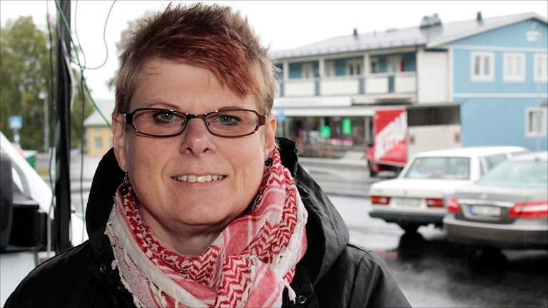 Christina Snell-Lumio (V) Övertorneå. Foto Stig-Arne Nordström/Sveriges Radio.