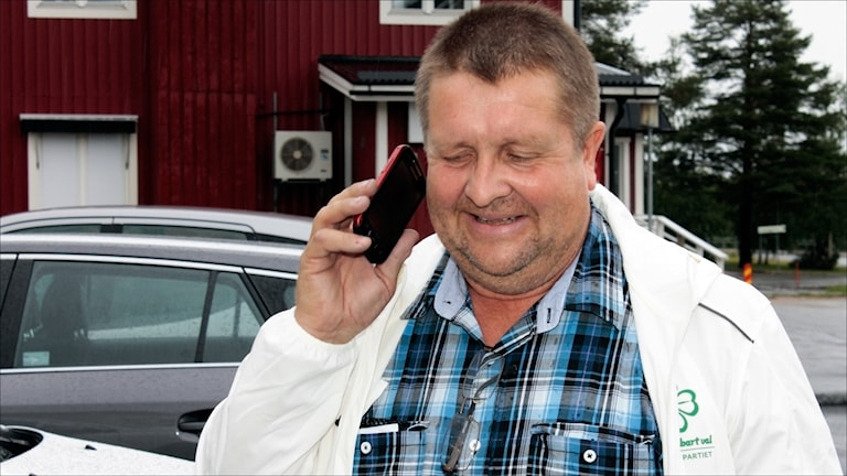 Tomas Mörtberg (C) Övertorneå Foto Stig-Arne Nordström/Sveriges Radio.