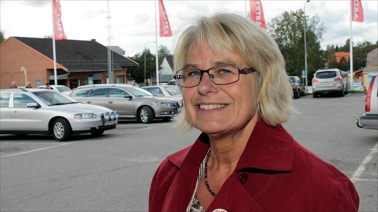 Helena Öhlund i Socialdemokraterna Älvsbyn. Foto Stig-Arne Nordström/Sveriges Radio