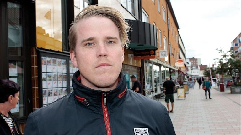 Jeff Ahl (SD). Arkivfoto: Stig-Arne Nordström/Sveriges Radio.